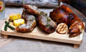 Chân giò muối chiên nướng theo kiểu Lechon - Bếp Mẹ Ỉn